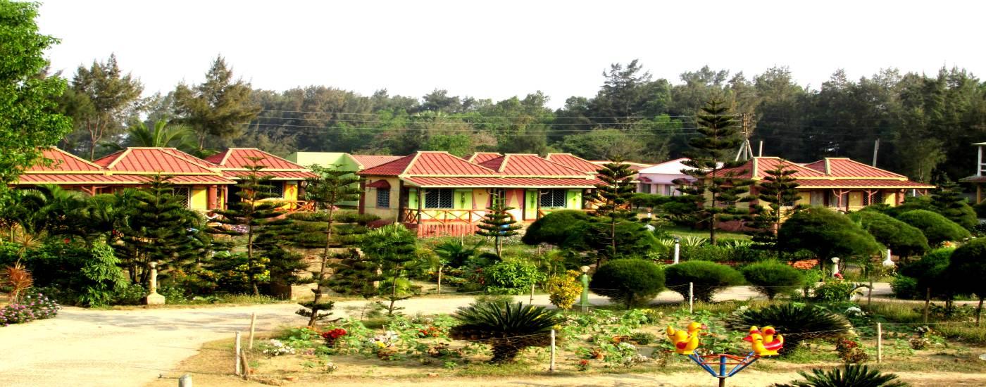 Dream Hut Resort….